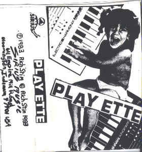 Playette cassette cover art. Release features So So Hard.