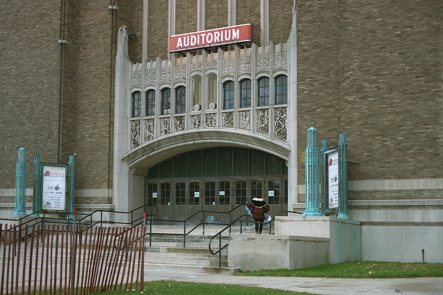 "17. Auditorium Theater, East Main Street, Rochester. Source photo for Paul Dodd ""Passion Play"" 1999."