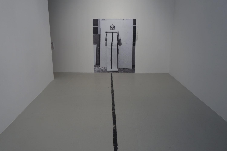 "Piero Manzoni ""Lines"" show at Hauser Wirth in Chelsea."