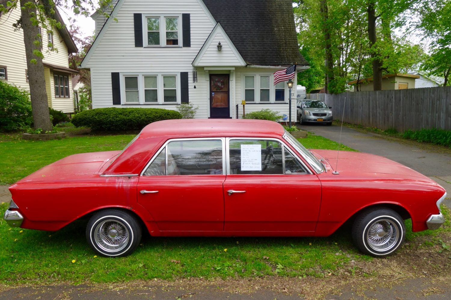 Red 1963 V8 Automatic Rambler for sale