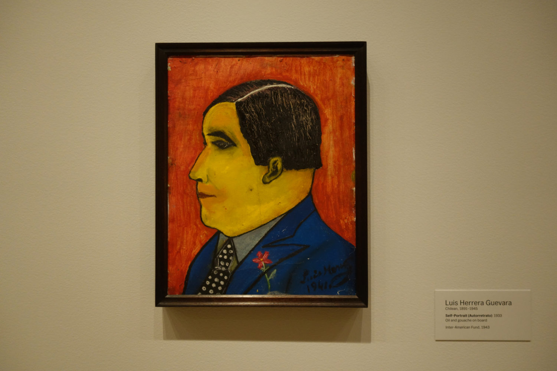 Luis Herrera Guevara self portrait 1943 MoMA