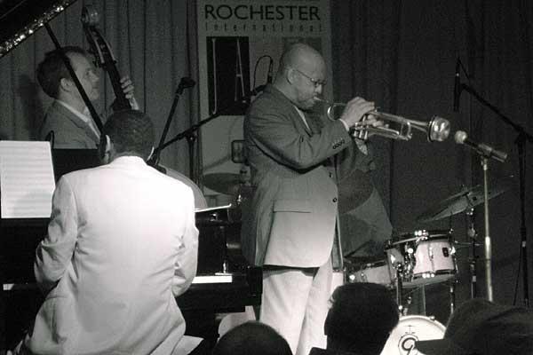 Eddie Henderson Quartet performing at the 2006 Rochester International Jazz Festival