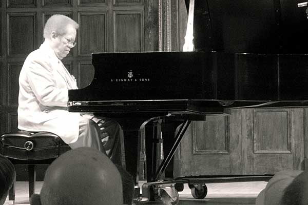 Cedar Walton performing at the 2006 Rochester International Jazz Festival
