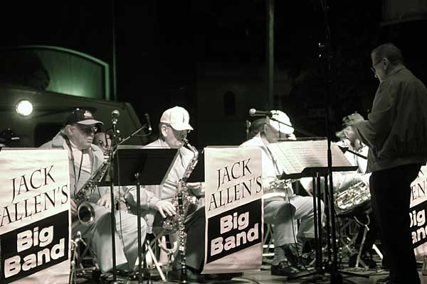 Jack Allen Big Band performing at the 2006 Rochester International Jazz Festival