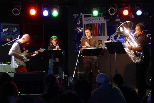 Posgate Howard Johnson performing at the 2006 Rochester International Jazz Festival
