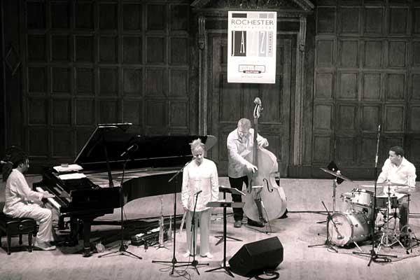 Jane Bunette Quartet performing at the 2006 Rochester International Jazz Festival