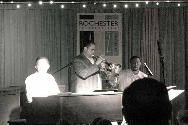 Terrell Stafford performing at the 2006 Rochester International Jazz Festival