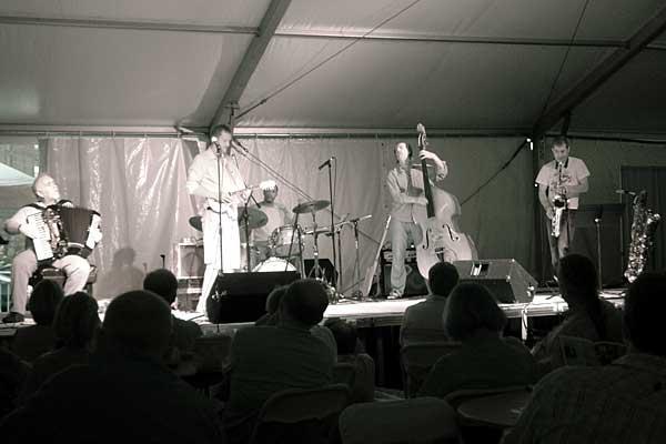 Kevin Breit Folk Alarm 5 performing at the 2006 Rochester International Jazz Festival