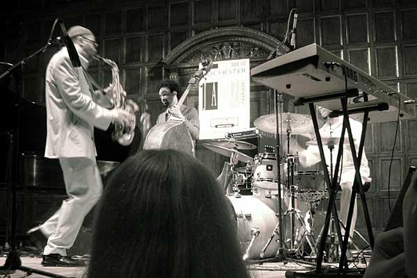 Kenny Garrett Kevin performing at the 2006 Rochester International Jazz Festival