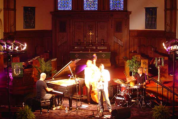 The Peter Asplund Quartet performing at the 2007 Rochester International Jazz Festival