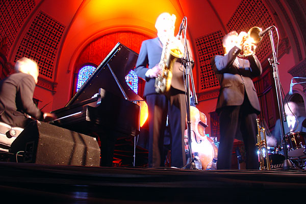 Five Corners performing at the 2007 Rochester International Jazz Festival