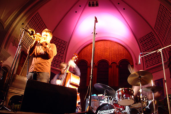The Ilmiliekki Quartet performing at the 2007 Rochester International Jazz Festival