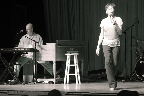 Bettye Lavette performing at the 2007 Rochester International Jazz Festival