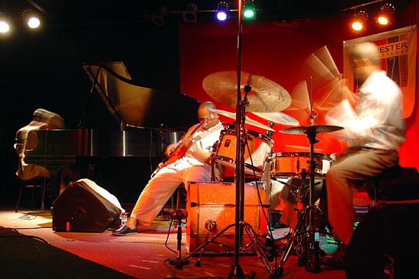 Jason Moran performing at the 2007 Rochester International Jazz Festival