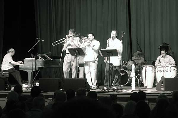 The Latin Side of Miles performing at the 2007 Rochester International Jazz Festival