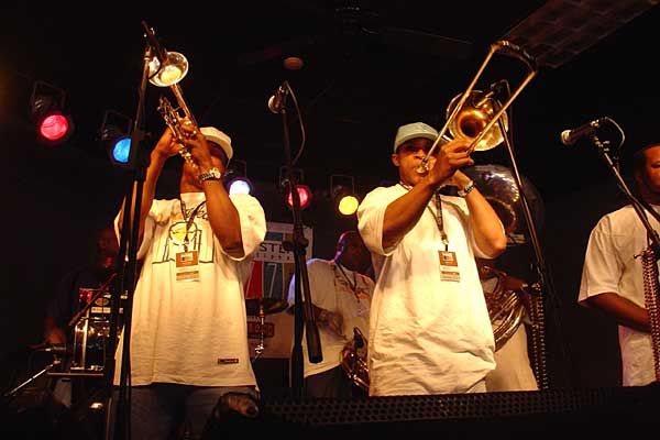 Soul Rebels performing at the 2007 Rochester International Jazz Festival