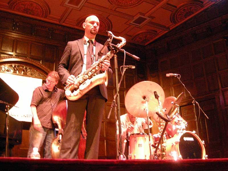 Al Foster Quartet performing at the 2008 Rochester International Jazz Festival