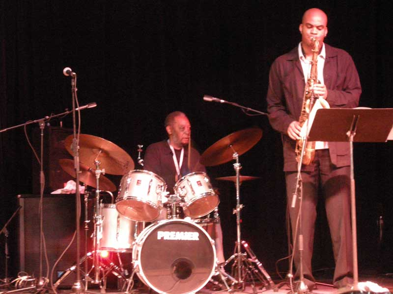 Ben Riley's Monk Legacy performing at the 2008 Rochester International Jazz Festival