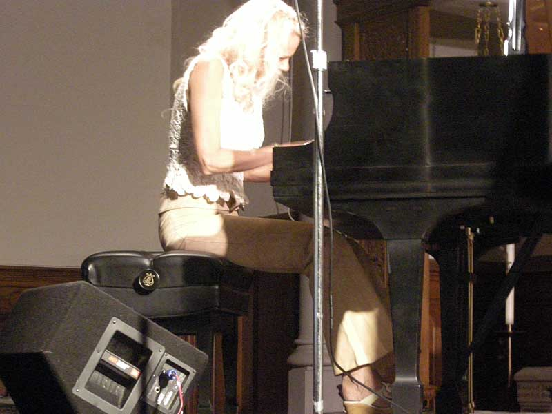 Iro Haarla performing at the 2008 Rochester International Jazz Festival