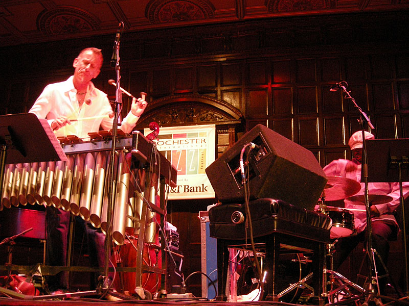Joe Locke performing at the 2008 Rochester International Jazz Festival