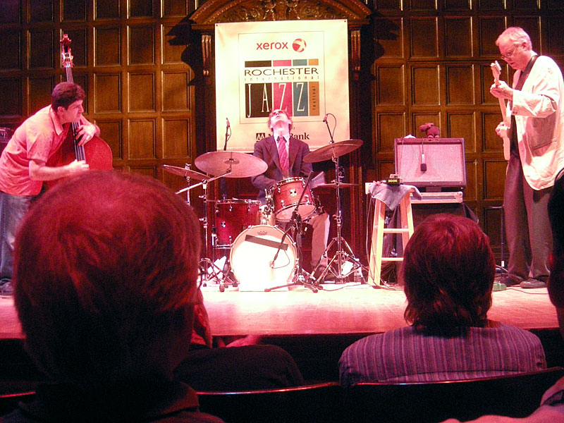 Bill Frisell Trio performing at the 2009 Rochester International Jazz Festival