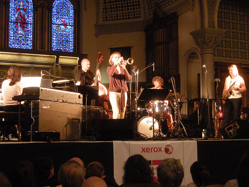 Nordic Connect performing at the 2009 Rochester International Jazz Festival