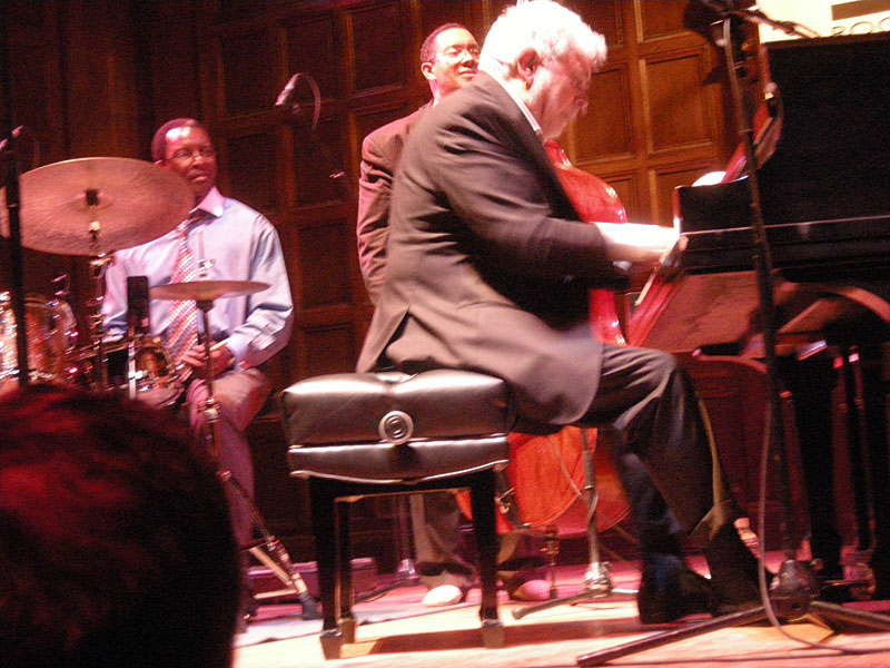 Monty Alexander performing at the 2009 Rochester International Jazz Festival