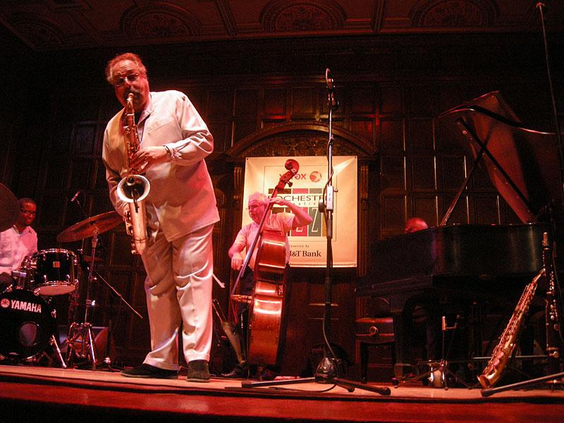 Joe Lovano performing at the 2009 Rochester International Jazz Festival