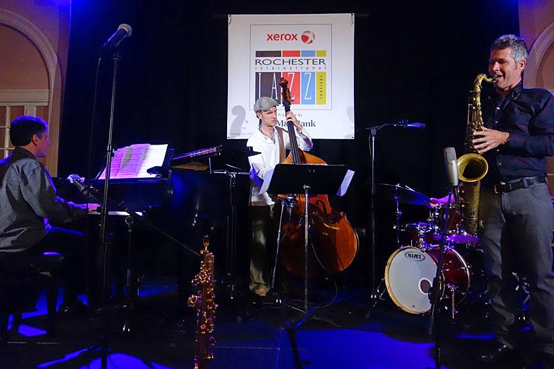 Joel Miller performing at the 2014 Rochester International Jazz Festival
