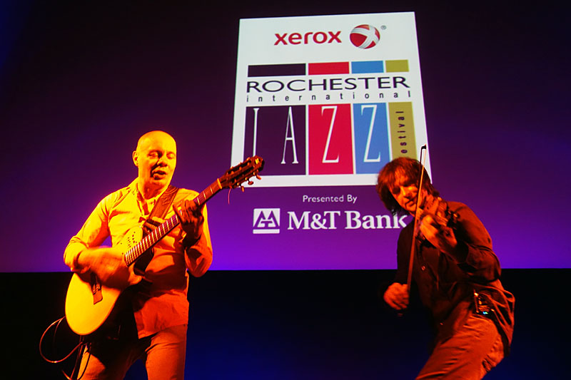 Two Siberians performing at the 2014 Rochester International Jazz Festival