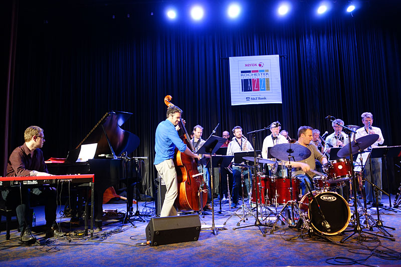 Flat Earth Society performing at the 2014 Rochester International Jazz Festival