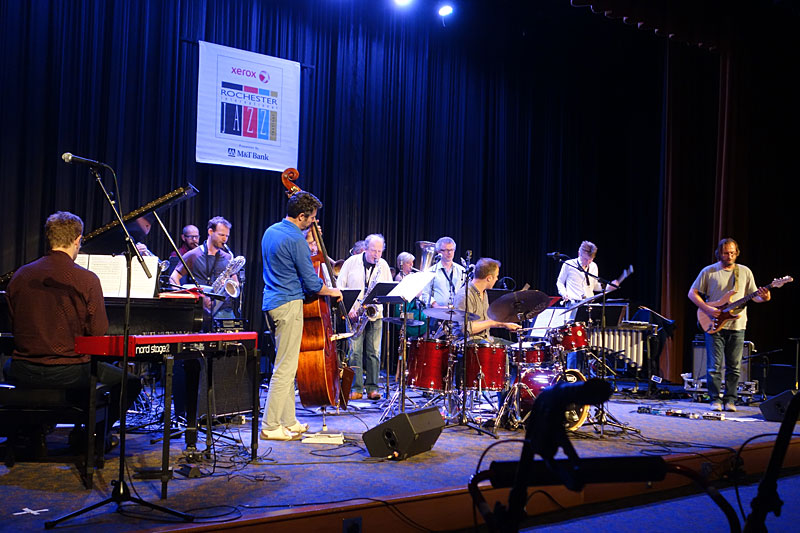 The Flat Earth Society performing at the 2014 Rochester International Jazz Festival