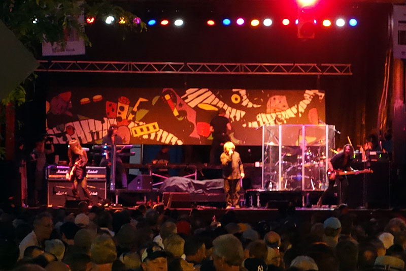 Lou Gramm performing at the 2014 Rochester International Jazz Festival