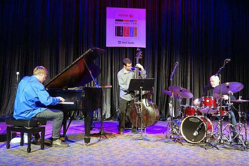 Jon Ballantyne performing at the 2014 Rochester International Jazz Festival