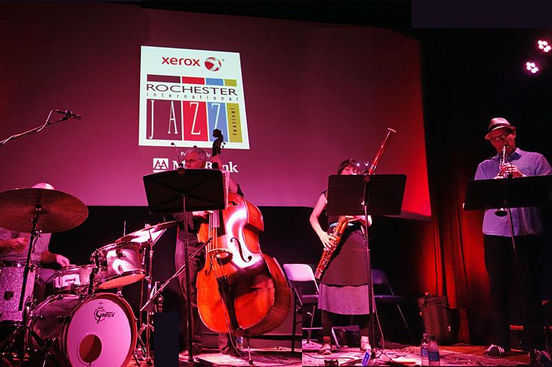 Harris Eisenstadt Golden State performing at the 2014 Rochester International Jazz Festival