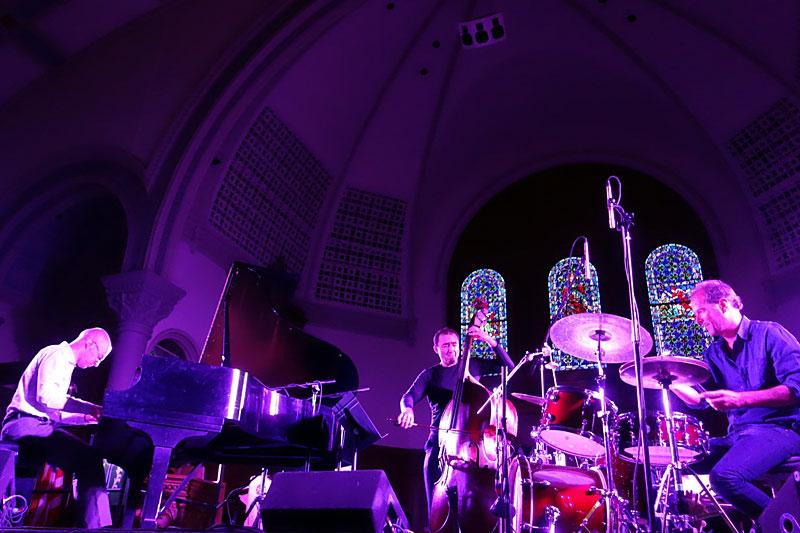 Kari Ikonen Trio performing at the 2014 Rochester International Jazz Festival