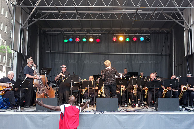 New Horizons performing at the 2014 Rochester International Jazz Festival