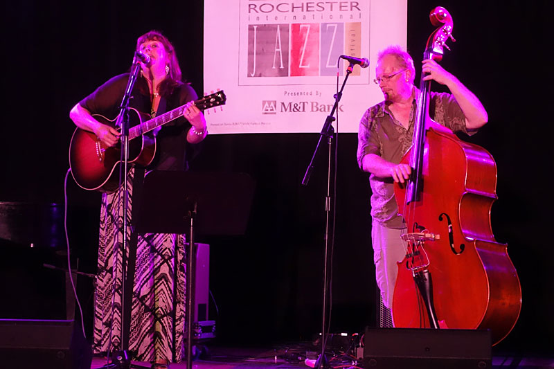Sophie Bancroft & Tom LyneSophie Bancroft & Tom Lyne performing at the 2014 Rochester International Jazz Festival
