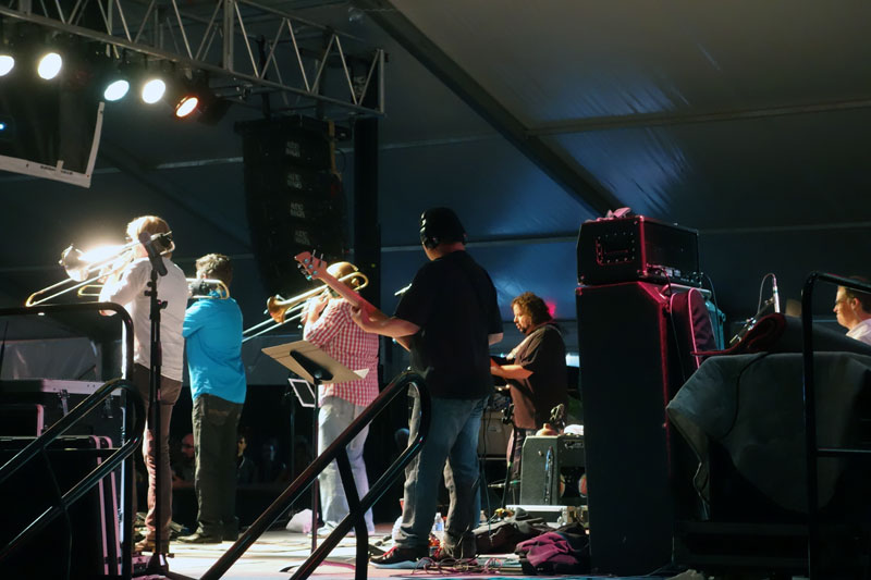 Bonerama performing at the 2014 Rochester International Jazz Festival