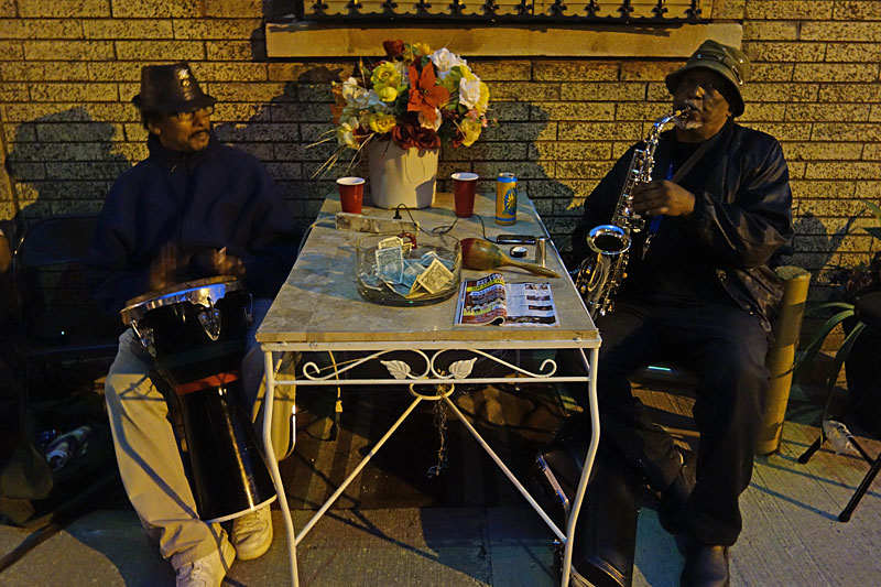 Street band performing at the 2014 Rochester International Jazz Festival