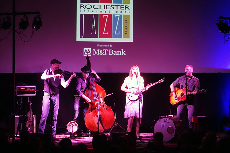 Hey Mavis performing at the 2014 Rochester International Jazz Festival