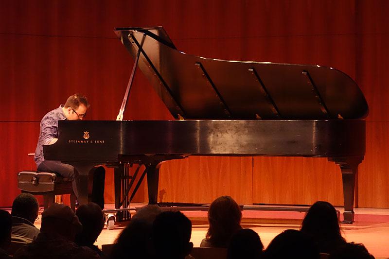 Manuel Valera performing at the 2014 Rochester International Jazz Festival