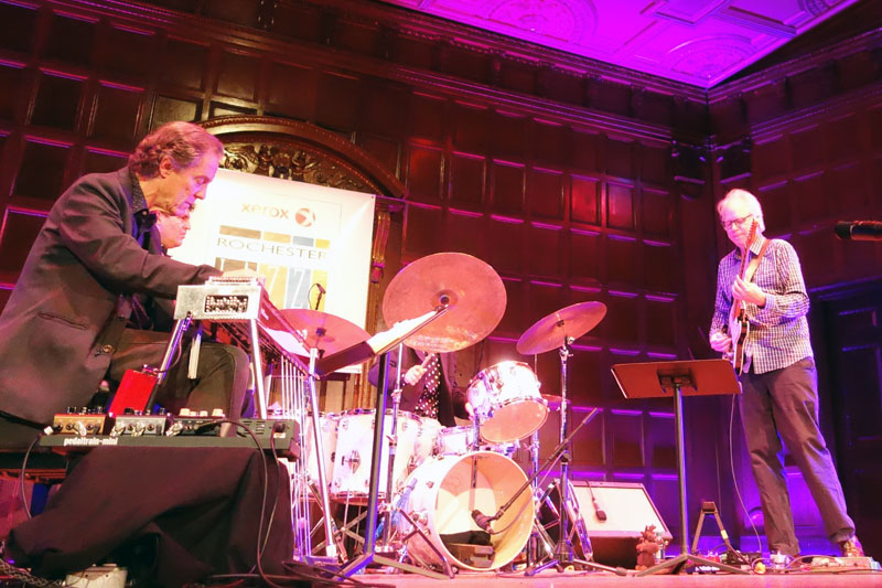 Bill Frisell's Guitar In The Space Age performing at the 2014 Rochester International Jazz Festival