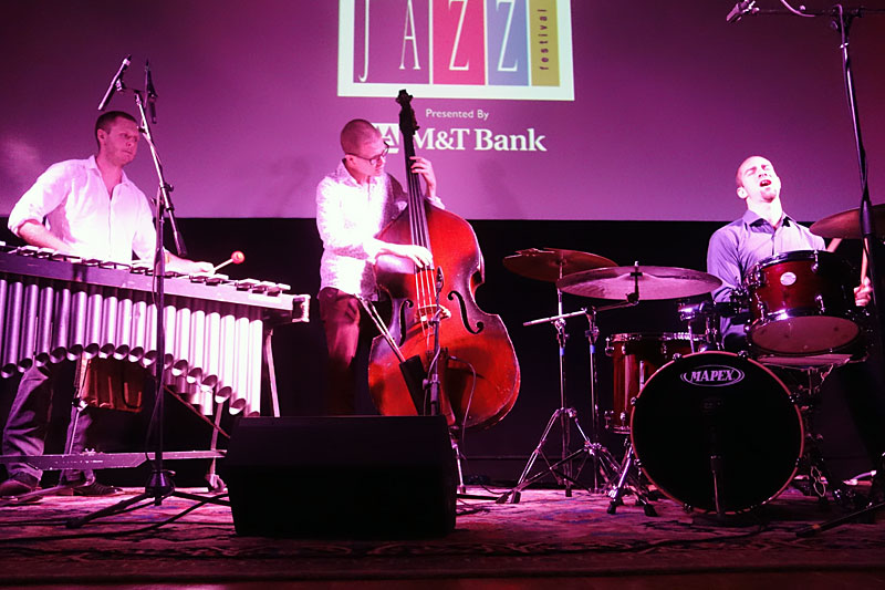 The Wee Trio performing at the 2014 Rochester International Jazz Festival