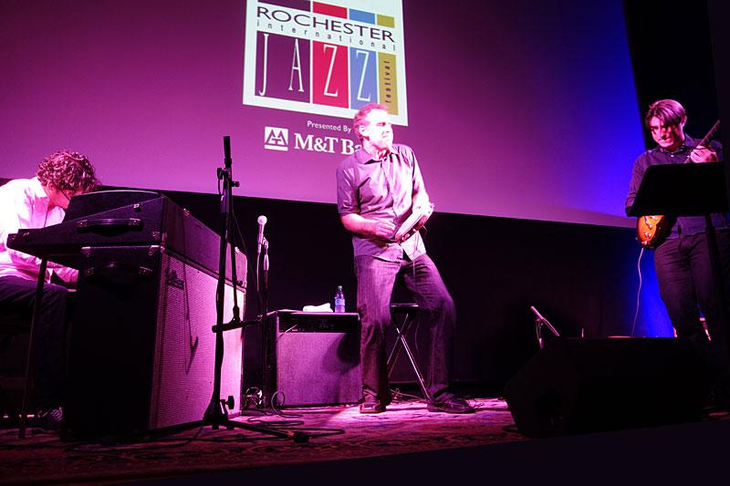 Scott Feiner & Pandeiro Jazz performing at the 2014 Rochester International Jazz Festival