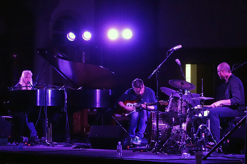 Susanna performing at the 2014 Rochester International Jazz Festival
