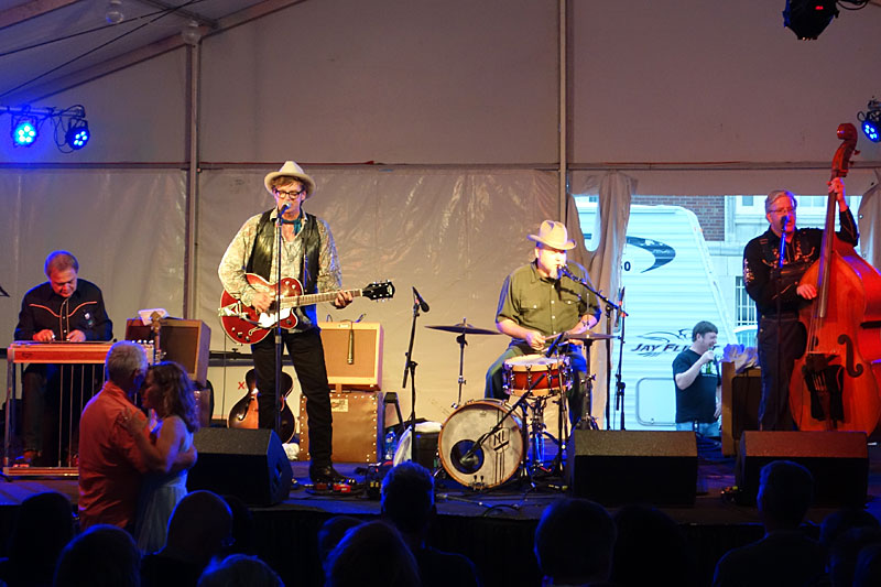 Chuck Mead & His Grassy Knoll Boys performing at the 2014 Rochester International Jazz Festival