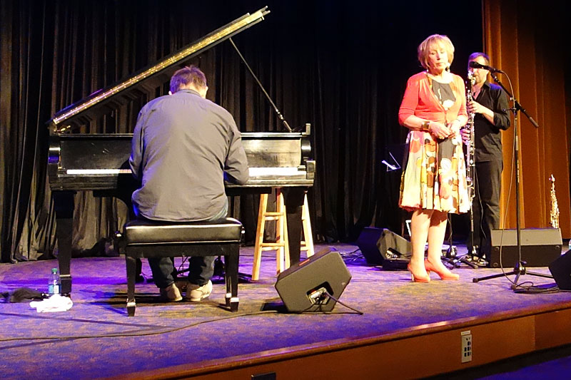 Norma Winstone Trio performing at the 2014 Rochester International Jazz Festival