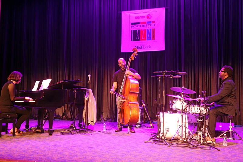 Eric Revis Trio performing at the 2015 Rochester International Jazz Festival