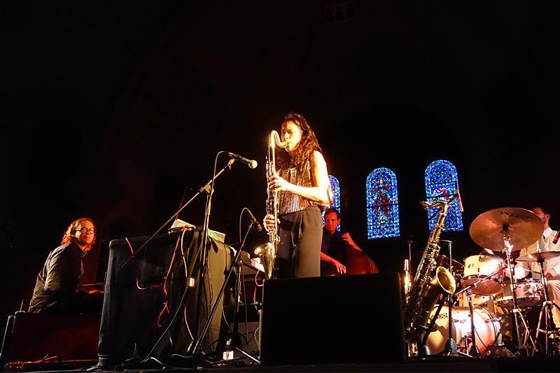 The Splender performing at the 2015 Rochester International Jazz Festival